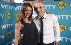 Beppe Fiorello con Ylenia ad Amici 176/06/18