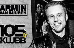 A 105 InDaKlubb l'esclusiva intervista a Armin van Buuren: venerdì 8 giugno alle 23
