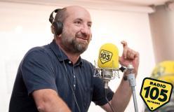 Antonio Albanese a 105 Friends: le foto dell'intervista