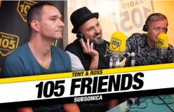 105 FRIENDS SUBSONICA 22-10-2018