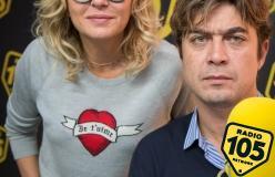 Valeria Golino e Riccardo Scamarcio a 105 Friends26/10/2018