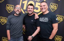 Carlo Grieco dei Daddy's Groove ospite di 105 InDaKlubb
