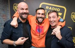 Marco Mengoni, le foto dell'intervista a 105 Friends
