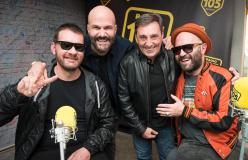 Negramaro, le foto dell'intervista a 105 Friends