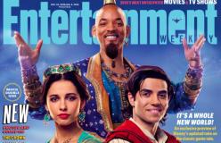 Le prime foto di Will Smith nei panni del Genio della lampada di Aladdin non convincono i fan