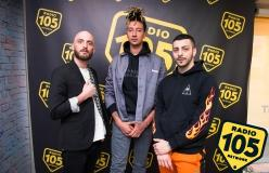 Ghali a 105 Trap: le foto dell'intervista