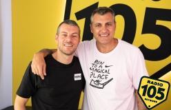 Bobo Vieri a 105 Mi Casa: le foto dell'intervista
