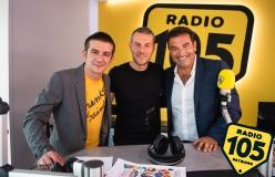 Max Giusti e Francesco Mandelli a 105 Mi Casa: le foto dell'intervista!