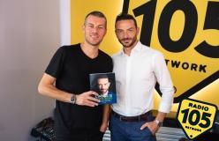 Iader Fabbri a 105 Mi Casa: le foto dell'intervista!