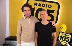 Mika a 105 Mi Casa: le foto dell'intervista