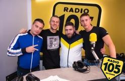 Massimo Pericolo, Speranza e Barracano a 105 Mi Casa: le foto dell'intervista!