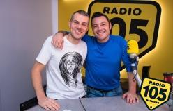 Tiziano Ferro a 105 Mi Casa: guarda le foto più belle!