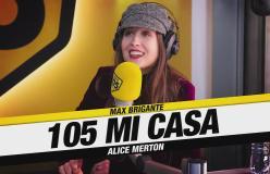 """Alice Merton a 105 Mi Casa: """"Easy è una richiesta di scuse ai miei amici e famigliari"""""""