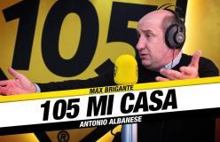 """Antonio Albanese a 105 Mi Casa: """"Da 30 anni, il mio desiderio è di trasmettere allegria al pubblico"""""""