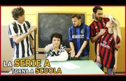 Gli Autogol: la Serie A rientra a scuola dopo le vacanze. Ecco il video