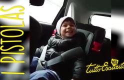 Il piccolo Leonardo (figlio di Liuzzi) canta la sigla dei Pistolas!