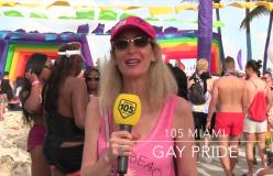 105 Miami al Gay Pride della Magic City