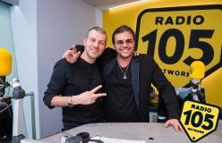 Gianluca Grignani a 105 Mi Casa: le foto dell'intervista