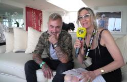 105 Miami: Vicky incontra Gianluca Vacchi alla Miami Music Week