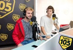 Merk & Kremont a 105 InDaKlubb: le foto dell'intervista