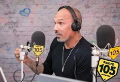 David Morales a 105 InDaKlubb: le foto dell'intervista
