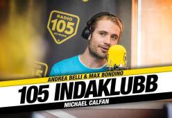 A 105 InDaKlubb c'è Michael Calfan