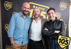 Mario Venuti a 105 Friends: le foto dell'intervista