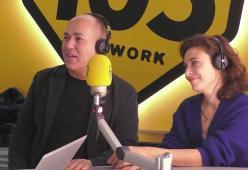 Ferzan Ozpetek, Jasmine Trinca e Edoardo Leo a 105 Friends per presentare il film La Dea Fortuna!