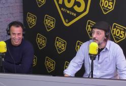 Matteo Garrone e Massimo Ceccherini a 105 Friends per presentare il film Pinocchio