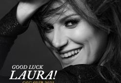 Laura Pausini: il nostro in bocca al lupo per gli Oscar!