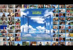 Ecco il video di Ma il cielo è sempre più blu cantata da 50 artisti italiani