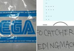 SEGA ha nascosto per anni un messaggio sui sacchetti dei premi delle sale giochi