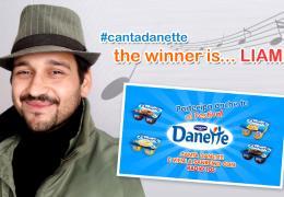 Liam, il vincitore della prima edizione di CANTA DANETTE, pronto a gustarsi il suo super-premio!