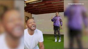 Shock: Will Smith perde i denti giocando a golf con Jason Darulo