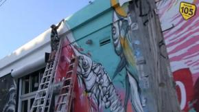 """Vicky: """"All'Art Basel, il murales da 2 milioni di dollari!"""""""