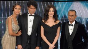 Carlo Conti ed i suoi co-conduttori
