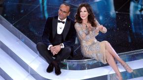 Carlo Conti e Virginia Raffaele