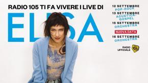Radio 105 festeggia i 20 anni di carriera di Elisa