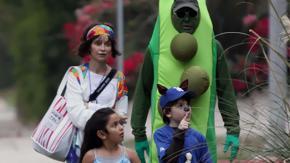 Avete mai visto i meravigliosi costumi di Harrison Ford per Halloween?