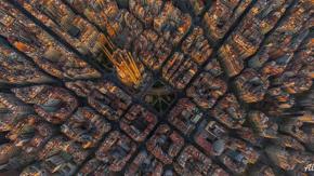Sapreste riconoscere queste 7 città riprese dall'alto?