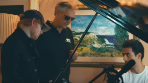 """Ed Sheeran e Andrea Bocelli assieme per """"Perfect Symphony"""": ecco il video del duetto"""