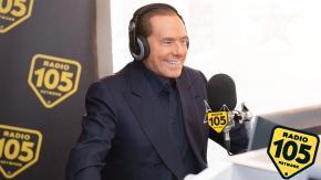 Silvio Berlusconi a 105 Friends, le foto