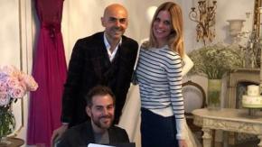 Daniele Bossari e Filippa Lagerback: sarà Enzo Miccio ad organizzare l'atteso matrimonio