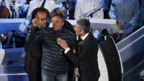 Ecco chi è l'uomo che ha fatto irruzione sul palco di Sanremo