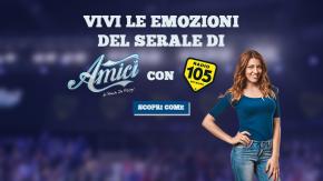 Vorresti assistere al serale di #Amici17 dal vivo con Radio 105? Partecipa al concorso e incrocia le dita!