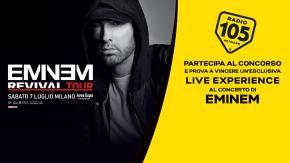 Vorresti partecipare all'unico concerto italiano di Eminem? Partecipa al concorso e incrocia le dita