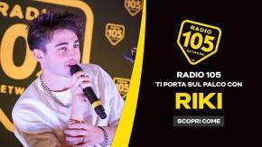 """Regolamento: """"RADIO 105 TI PORTA SUL PALCO CON RIKI"""""""