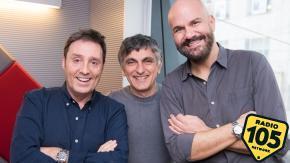 Vincenzo Salemme a 105 Friends: le foto