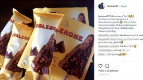 Arriva il gelato Toblerone, per tutti gli amanti della barretta al cioccolato