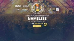 """Vorresti vivere la nostra """"Backstage Experience"""" al Nameless Music Festival 2018? Partecipa al concorso e incrocia le dita"""